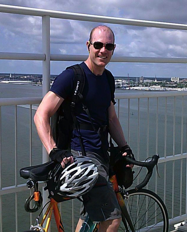 Riding over the Ravenel